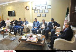 بازدید مدیرعامل مؤسسه فرهنگی قدس از مؤسسه نگهداری همدم و گلستان علی(ع)