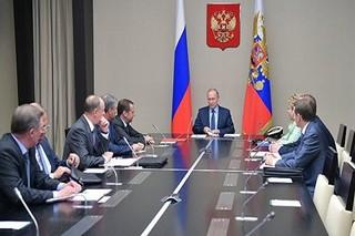 جلسه شورای امنیت روسیه