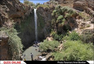 آبشار آبگرم، کلات خراسان رضوی / گزارش تصویری
