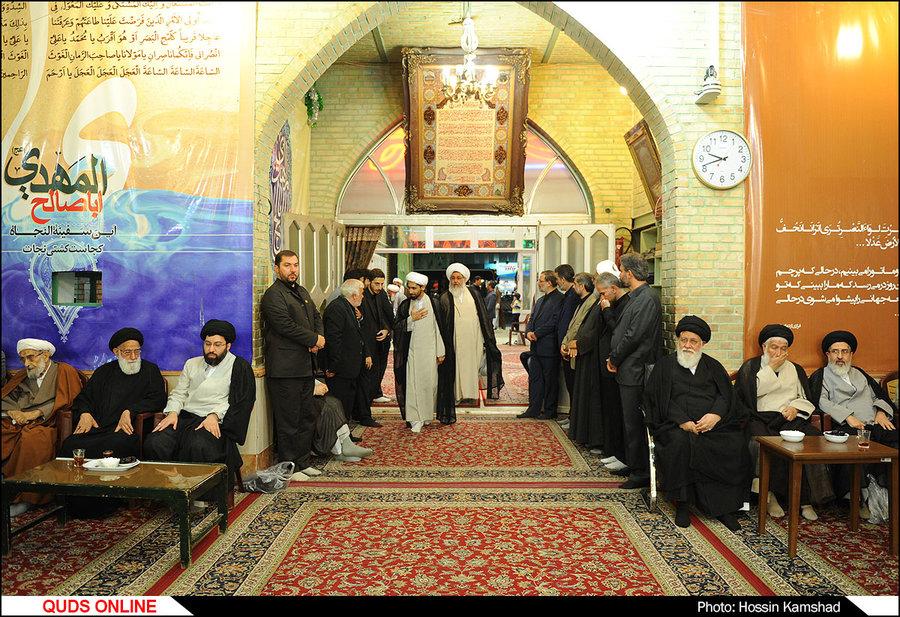 مراسم چهلم همسر آیت الله علم الهدی در مهدیه مشهد برگزار شد / گزارش تصویری