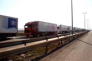 کامیون، ترانزیت
