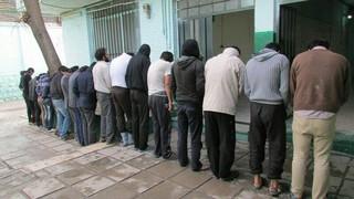 دستگیری متجاهرین و معتادین خرم آباد