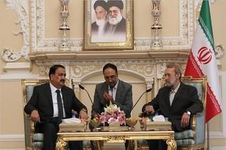 لاریجانی و وزیر دفاع عراق