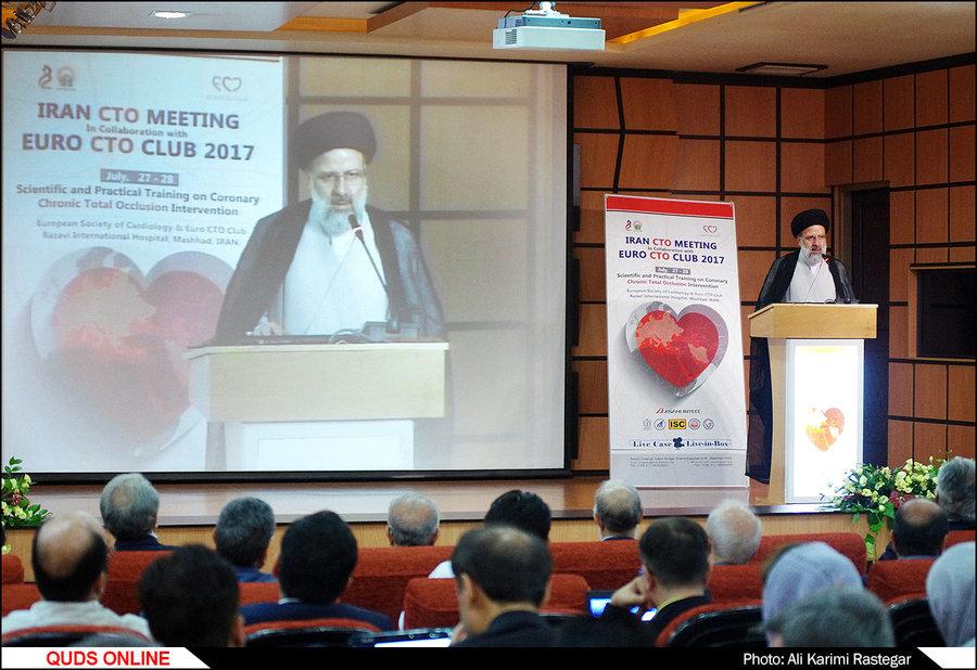 برگزاری نخستین کنگره بینالمللی CTO در بیمارستان رضوی همزمان با دهه مبارک کرامت./گزارش تصویری
