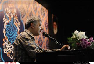 شب شعر گوهرشاد با حضور شاعران آیینی کشور در حرم مطهر رضوی/گزارش تصویری