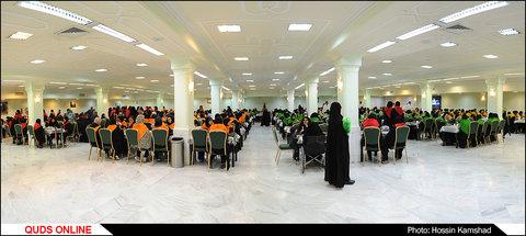 مهمانسرای حضرت در دهه کرامت/گزارش تصویری