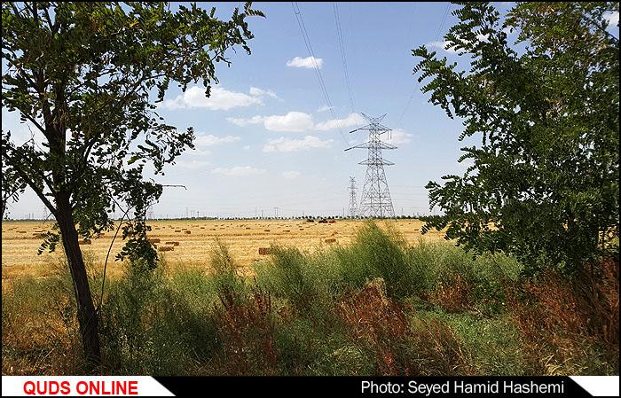 آغاز عملیات احداث چندپروژه کشاورزی درمزرعه نمونه آستان قدس رضوی