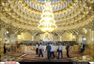 کفشداری حرم مطهر رضوی/ گزارش تصویری