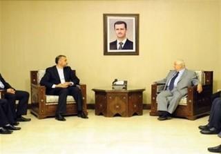 امیرعبداللهیان با وزیر خارجه سوریه