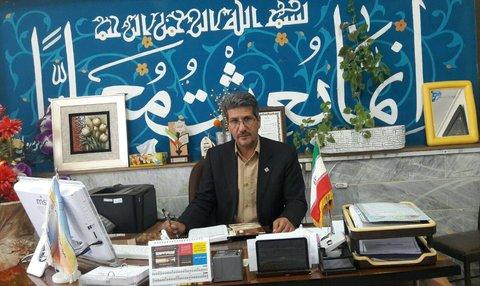 حسن عزیزی مدیر آموزش و پرورش بجستان
