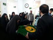 ورود خادمان رضوی به خانه سالمندان و بیمارستان های یزد