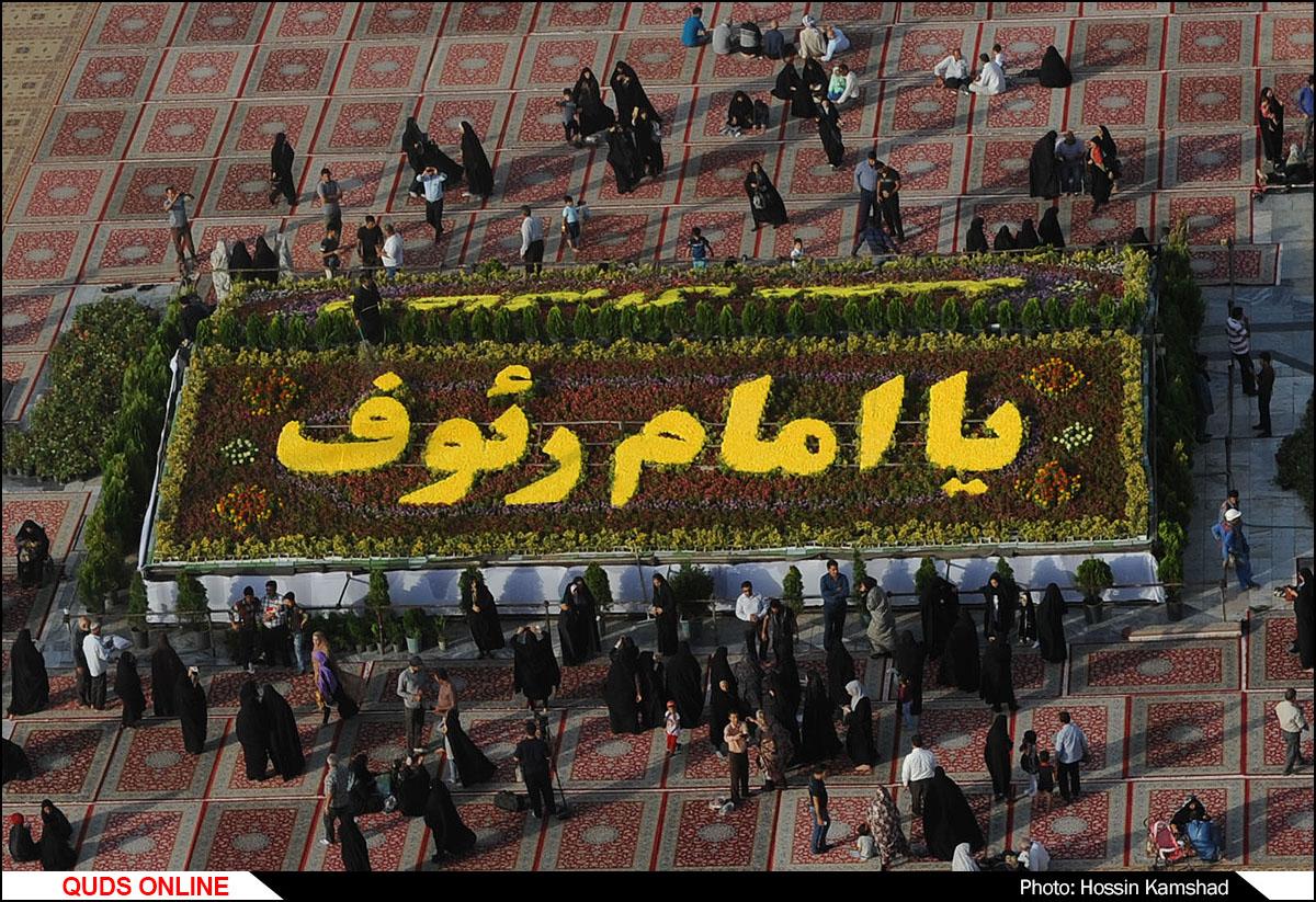 آذین بندی حرم مطهر رضوی در دهه کرامت/گزارش تصویری1