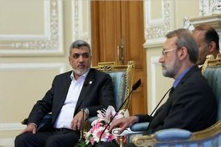 رئیس روابط بین الملل جنبش حماس با لاریجانی