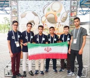 درخشش تیم رباتیک فنی و حرفه ای اصفهان