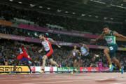 دونده ترک در نبود بولت طلای ۲۰۰ متر جهان را گرفت