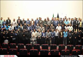مراسم تکریم خبرنگاران توسط بسیج رسانه در مشهد