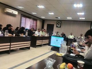 جلسه ی تجلیل از خبرنگاران پلیس