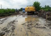 سیل گریبان «گلوگاه» را گرفت/ ۱۲ هزار هکتار اراضی کشاورزی غرق شد
