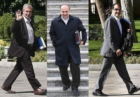 سه وزیر پیشنهادی