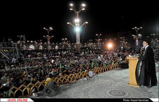 گرامیداشت و تجلیل از خانواده شهیدان «حججی» و «مشلب» در حرم رضوی برگزار شد/ گزارش تصویری