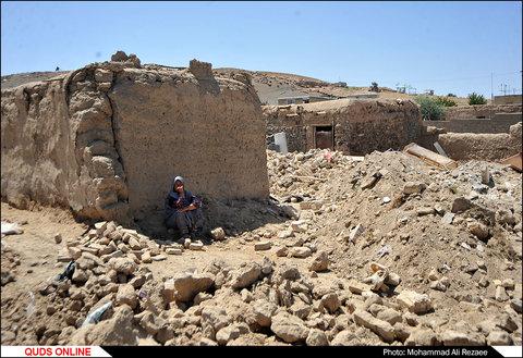 ساخت و ساز در مناطق زلزله زده تربت جام و فریمان