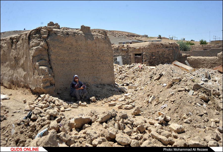 ساخت و ساز در مناطق زلزله زده تربت جام و فریمان/گزارش تصویری