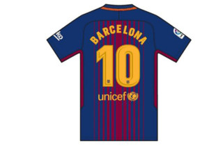 پیراهن ویژه تیم بارسلونا