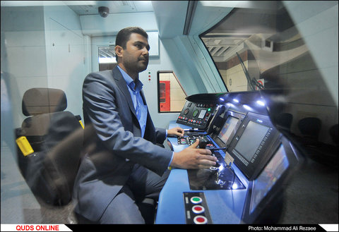 افتتاح ایستگاه مفتح خط 2 قطار شهری مشهد