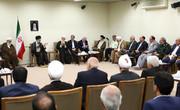 فعالان فرهنگی استان های همدان و یزد با رهبر معظم انقلاب اسلامی دیدار کردند