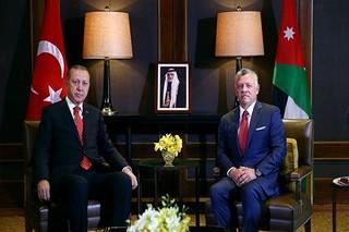 اردوغان و پادشاه اردن