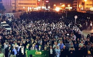 اجتماع عزاداران شهادت امام جواد(ع) در مشهد