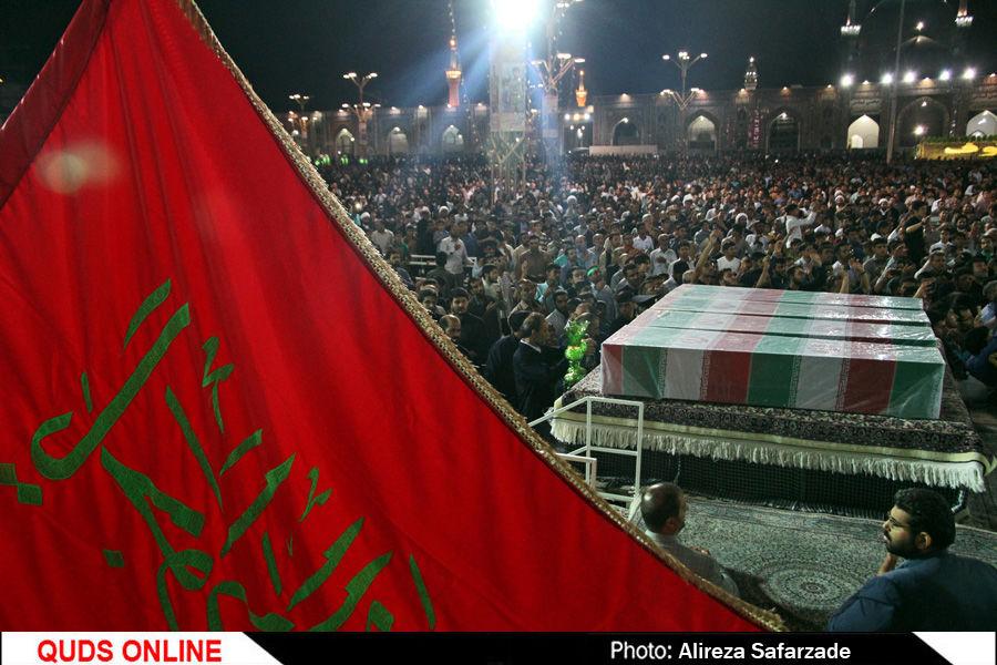 مراسم شب شهادت امام جوادعلیه السلام درمشهد/گزارش تصویری