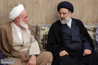 دیدار حجت الاسلام رئیسی با نماینده ولی فقیه در سیستان و بلوچستان