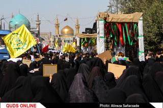 تشییع سه شهید مدافع حرم -مشهد
