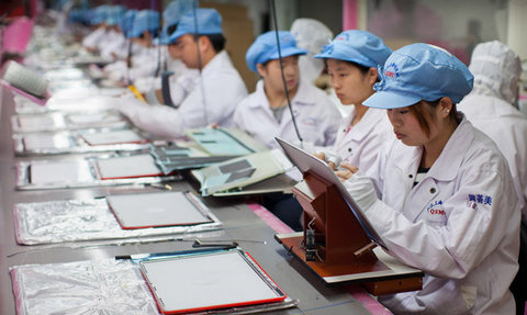 کارگران چینی