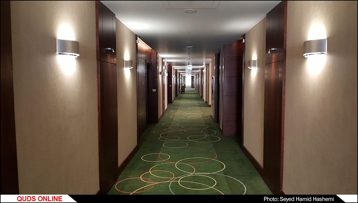 بازدیدخبرنگاران از هتل هما (1) مشهد