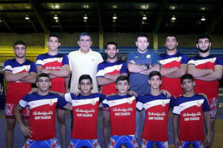 تیم کشتی فرنگی نوجوانان ایران