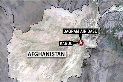 پایگاه آمریکایی «بگرام» در افغانستان