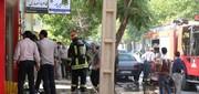 آتش سوزی آرایشگاه مردانه در یاسوج