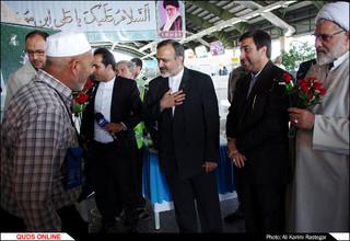 ورود نخستین حجاج خراسانی به فرودگاه هاشمی نژاد مشهد