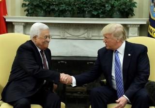 ترامپ با عباس