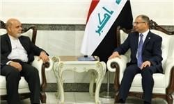 رئیس پارلمان عراق در دیدار با سفیر ایرانی