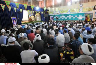 تجمع طلاب در اعتراض به کشتار مسلمانان میانمار