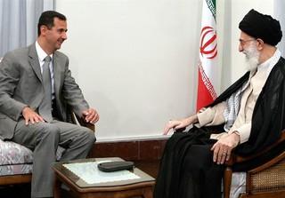 بشار اسد و امام خامنهای