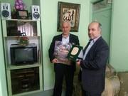 دیدار نماینده مجلس شورای اسلامی با سرپرست روزنامه قدس در گیلان