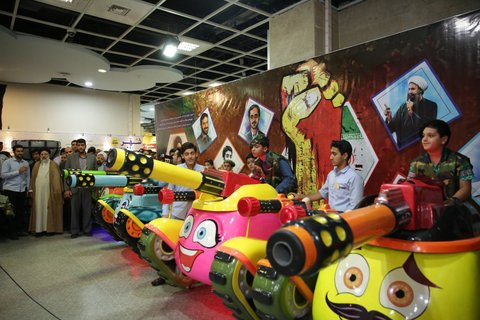 تولیت آستان قدس رضوی در بازدید از شهربازی بازی و دانایی