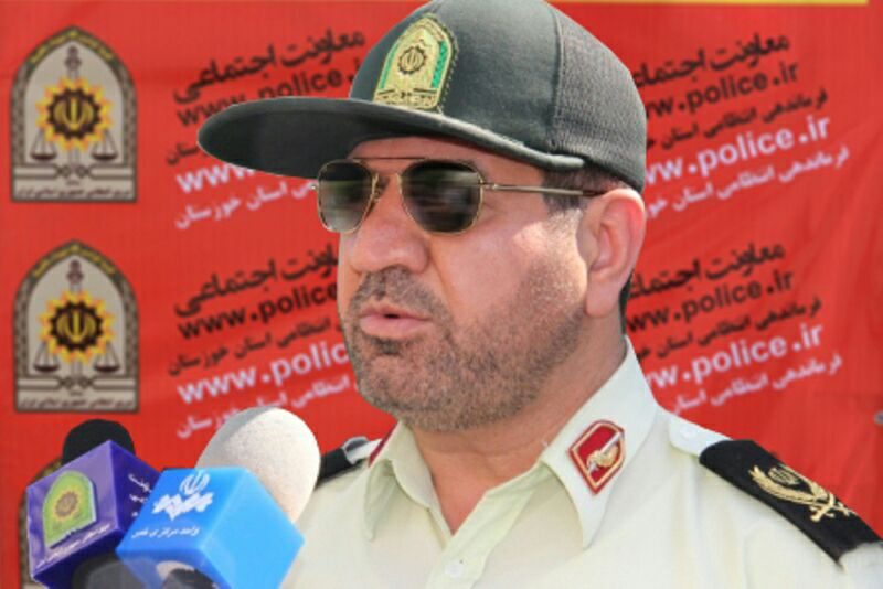 فرمانده نیروی انتظامی خوزستان