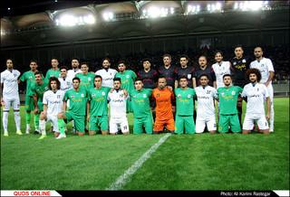 دیدار تیمهای منتخب مشهد و کربلا