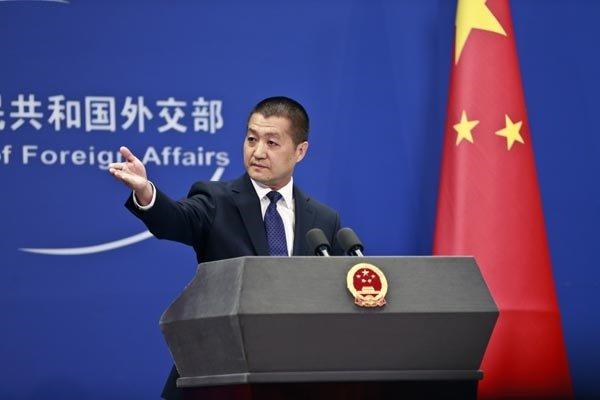 «لو کانگ» سخنگوی وزارت خارجه چین