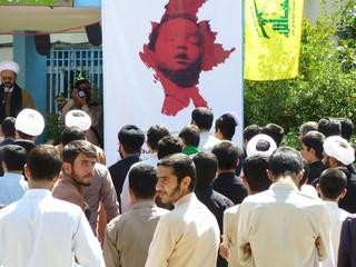 تجمع اعتراض آمیز یاسوجی ها در حمایت از مردم میانمار